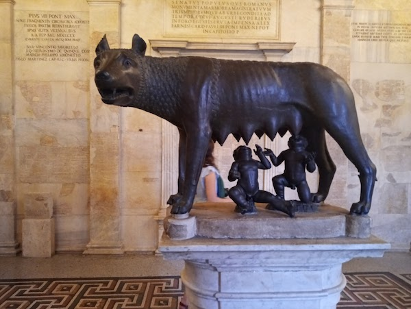 Lupa Capitolina Campidoglio - Musei Capitolini