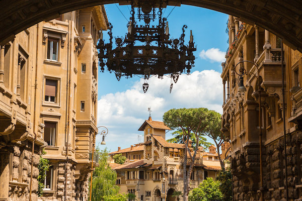 Quartiere Coppedè Rome