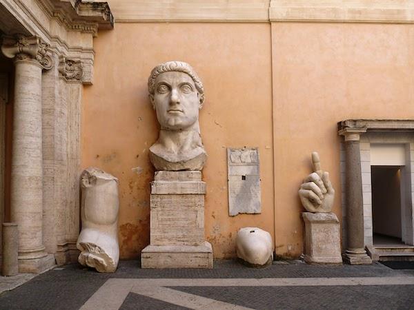 Emperor Costantine Statue Campidoglio - Musei Capitolini