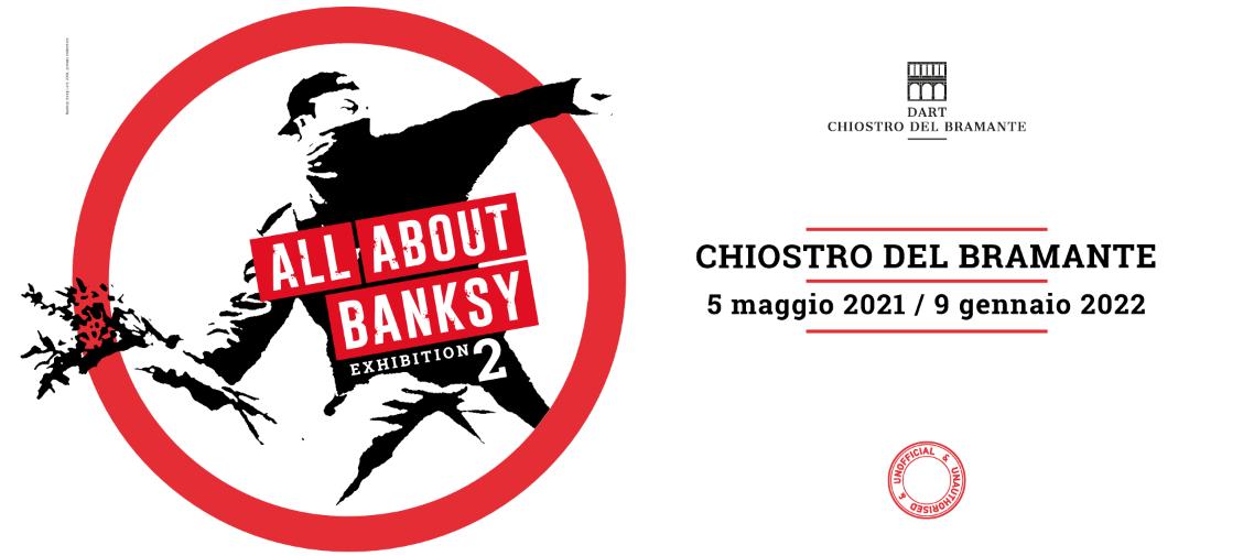 BANKSY Chiostro del Bramante ROME
